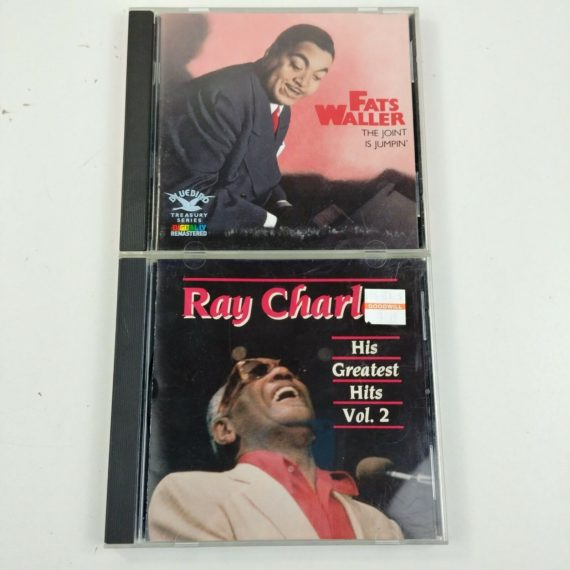 2-jazz-music-cds-fats-waller-joint-is-jumpin-ray-charles-greatest-hits-3