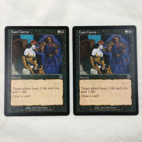 2-last-caress-sorcery-black-magic-the-gathering-mtg-card-lot-18