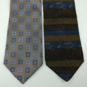 2-mens-neck-ties-geometric-squares-stripes-campia-moda-joseph-abbound-16