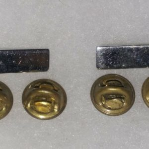 2-silver-metal-bars-old-military-pin-medal-ww2-4