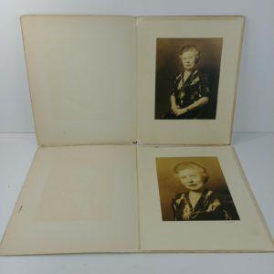2-vintage-bw-photos-grandma-older-woman-immigrant-belgium-to-new-york-lot-15