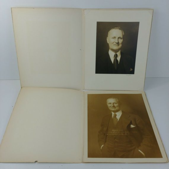 2-vintage-bw-photos-grandpa-older-man-immigrant-belgium-to-new-york-lot-16