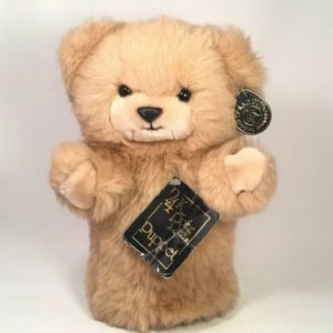 24k-polar-puff-brad-bear-childrens-teddy-plush-hand-puppet-1985