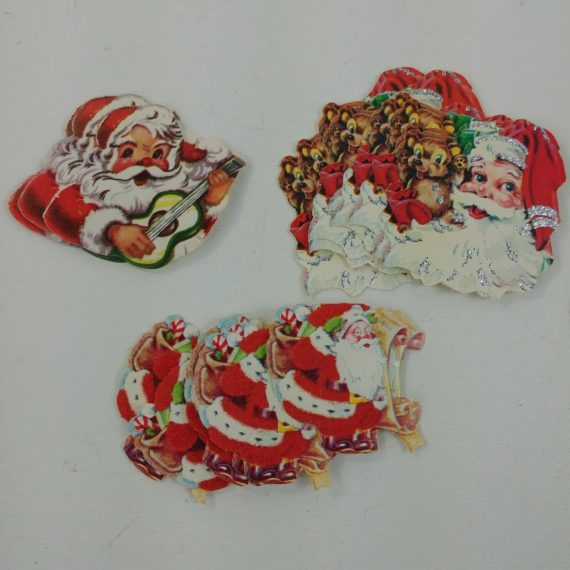 25-christmas-seals-stickers-santa-teddy-bear-guitar-list-3-different-lot-2