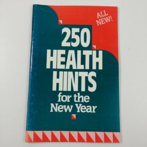 250-health-hints-for-the-new-year-1989-rodale-press-vintage-booklet