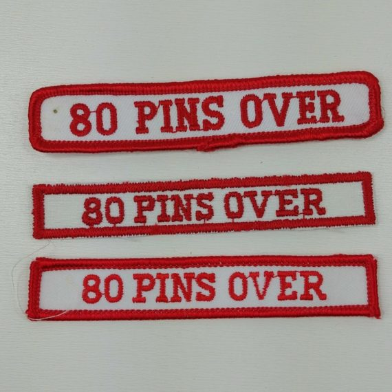3-cloth-sleeve-patches-badge-bowling-white-blue-80-pins-over-game-series-90