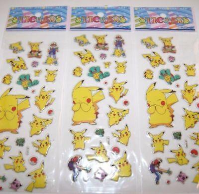 3-sheets-puffy-japan-anime-pokemon-stickers-pikachu-pocket-a-lot-2