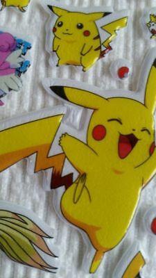 3-sheets-puffy-japan-anime-pokemon-stickers-pikachu-pocket-scrapbooking-1
