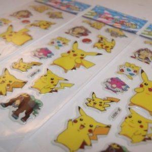 3-sheets-puffy-japan-anime-pokemon-stickers-pikachu-us-ship-d-lot-11