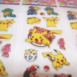 3-sheets-puffy-japan-anime-pokemon-stickers-pikachu-us-ship-lot-8