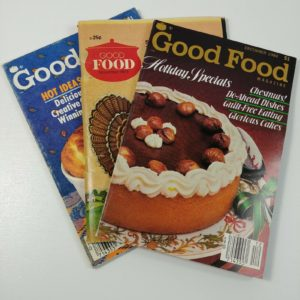 3-vintage-good-food-magazines-holiday-special-1970s-1980s-cakes-duck-cooking