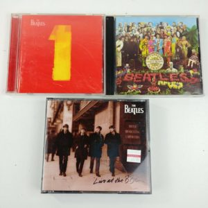 4-beatles-cds-sgt-peppers-lonely-hearts-live-at-bbc-album-1-lot-10