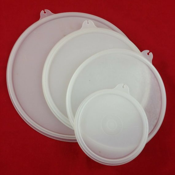 4-clear-lid-lot-tupperware-sheer-replacements-733-238-227-229-lot-15