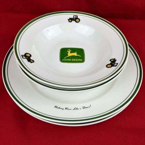 4-lot-2-large-plates-2-soup-bowls-john-deere-logo-passed-down-gibson-3