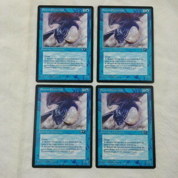 4-storm-elemental-summon-elemental-blue-magic-the-gathering-mtg-card-lot-48
