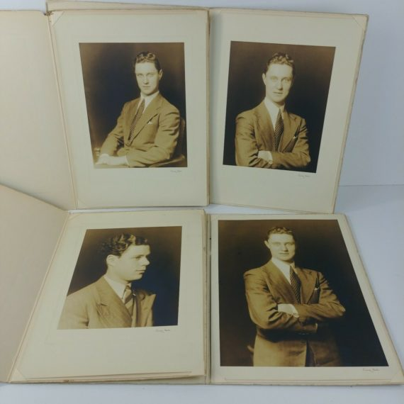 4-vintage-bw-photos-young-men-brothers-immigrants-belgium-to-new-york-lot-17