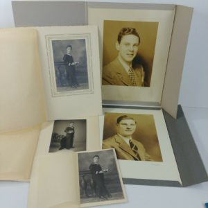 5-vintage-bw-photos-brothers-high-society-immigrants-from-belgium-lot-21