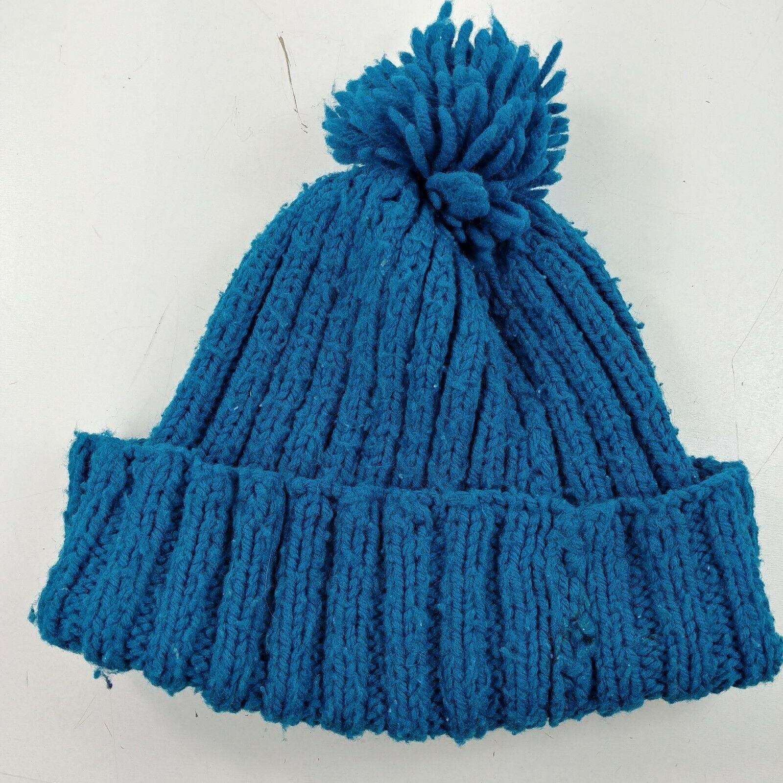 6a9c2afa 8 Hat Lot - Knit Face Beanie Pom Fuzzy Skull Cap Winter Rainbow