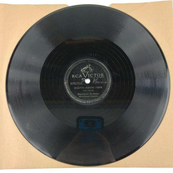 78-rpm-buchanan-brothers-hootin-nanny-papa-rca-victor-20-3191