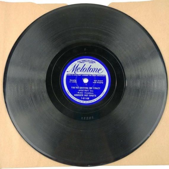 78-rpm-youre-driving-me-crazy-toot-toot-tootsie-hoosier-hot-shots
