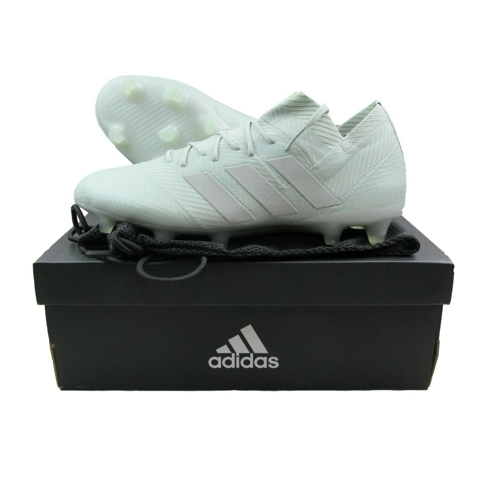 48de3f11c7f4 Adidas Nemeziz 18.1 FG Soccer Cleats Ash Silver Size 9 Mens DB2081