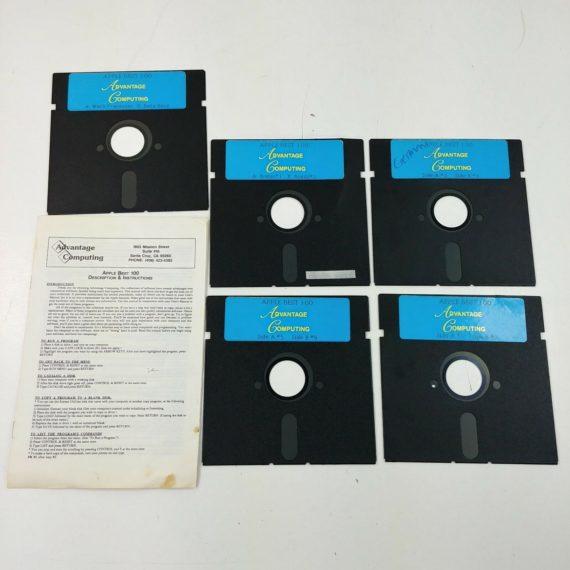 advantage-computing-apple-best-100-vintage-5-floppy-disks-5-25-1980s-lot-11