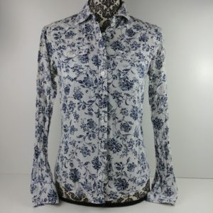 aeropostale-juniors-button-down-floral-blouse-white-blue-size-small-long-sleeve