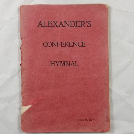 alexanders-conference-hymnal-vintage-religious-music-song-book-booklet