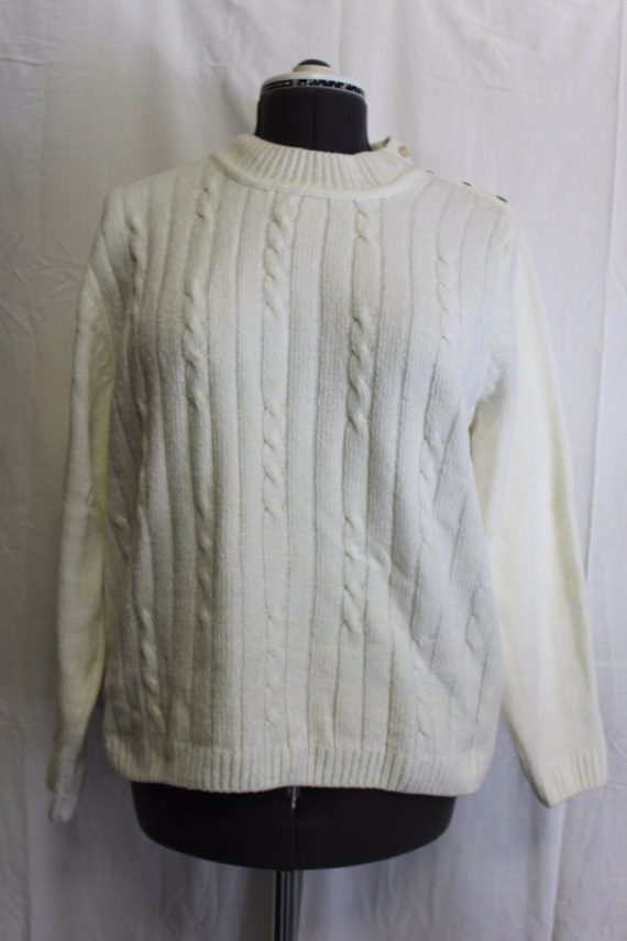 alfred-dunner-long-sleeve-knit-sweater-solid-white-womens-size-large
