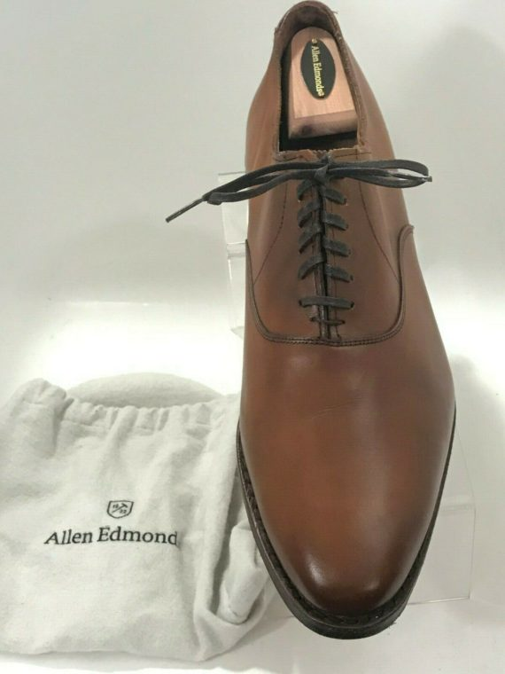allen-edmonds-carlyle-walnut-leather-plain-toe-oxford-sz-11-5d-8832
