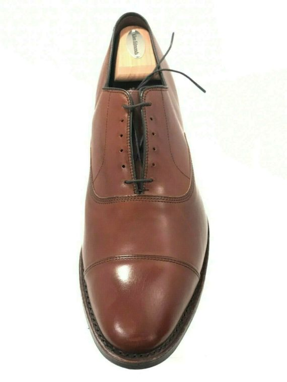 allen-edmonds-park-avenue-walnut-leather-cap-toe-oxford-sz-12d-5645