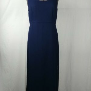 amanda-smith-scoop-neck-long-dark-blue-dress-sleeveless-womens-size-12
