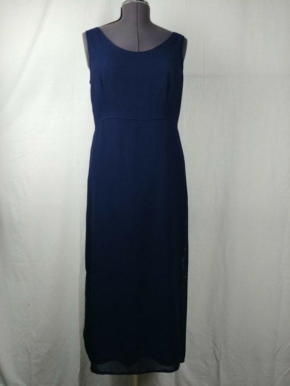 amanda-smith-scoop-neck-long-dark-blue-dress-sleeveless-womens-size-12