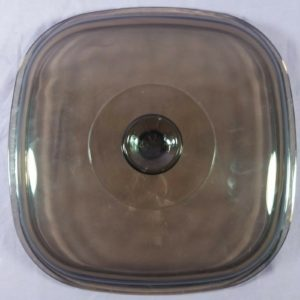 amber-glass-replacement-dish-lid-pyrex-14-a12c-roaster-square-9-1-2-76