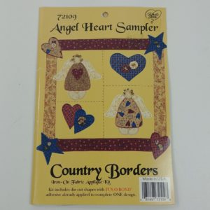 angel-heart-sampler-iron-on-applique-kit-country-borders-patchwork-craft-16