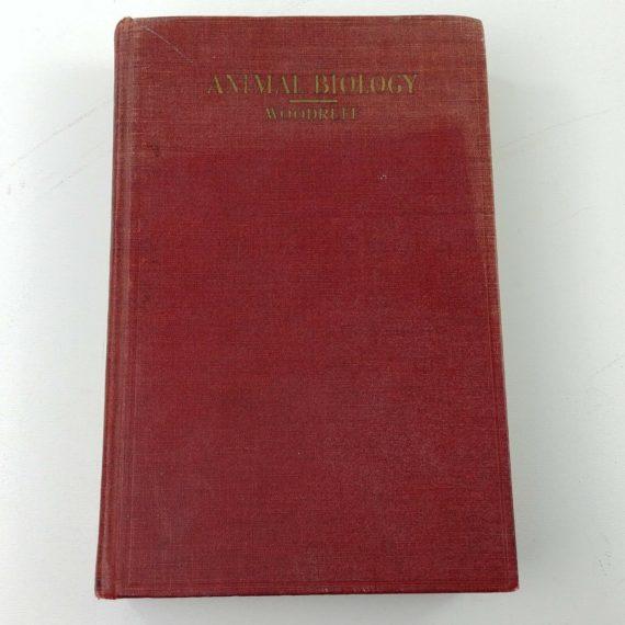 animal-biology-by-lorande-woodruff-march-1932-1st-ed