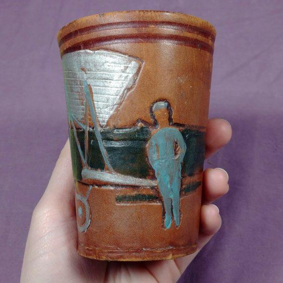 argentina-leather-w-felt-cup-celebrating-mayor-zanni-ciudad-de-buenos-aires