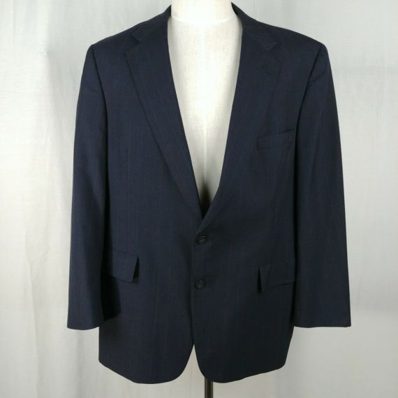 austin-reed-of-regent-street-ayrishire-blue-suit-coat-jacket-blazer-mens-size-50