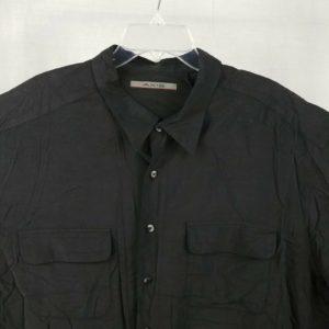 axis-black-button-front-100-silk-casual-dress-shirt-mens-big-tall-3xt
