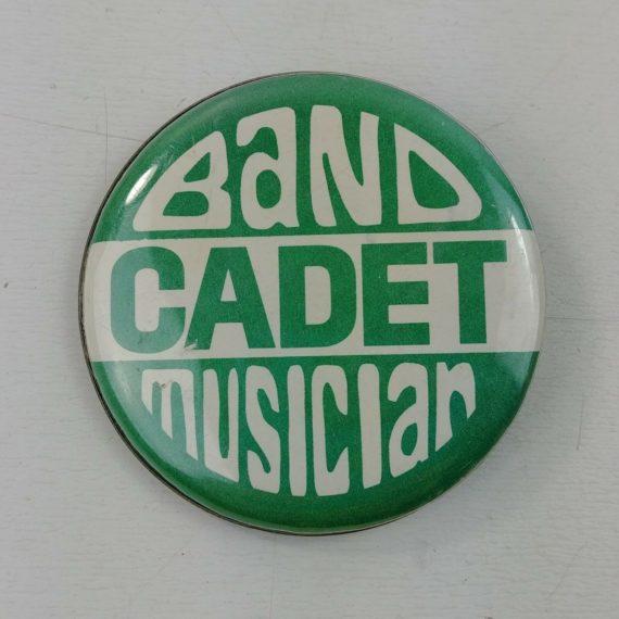 band-cadet-musician-green-white-vintage-pinback-button-13