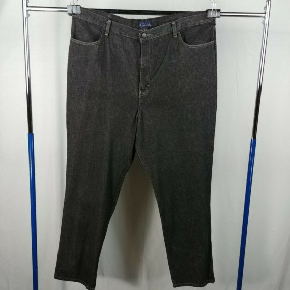 basic-editions-dark-jeans-casual-pants-mens-size-42-x-32-100-cotton