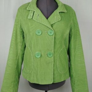big-chill-green-corduroy-double-breasted-jacket-coat-womens-size-large