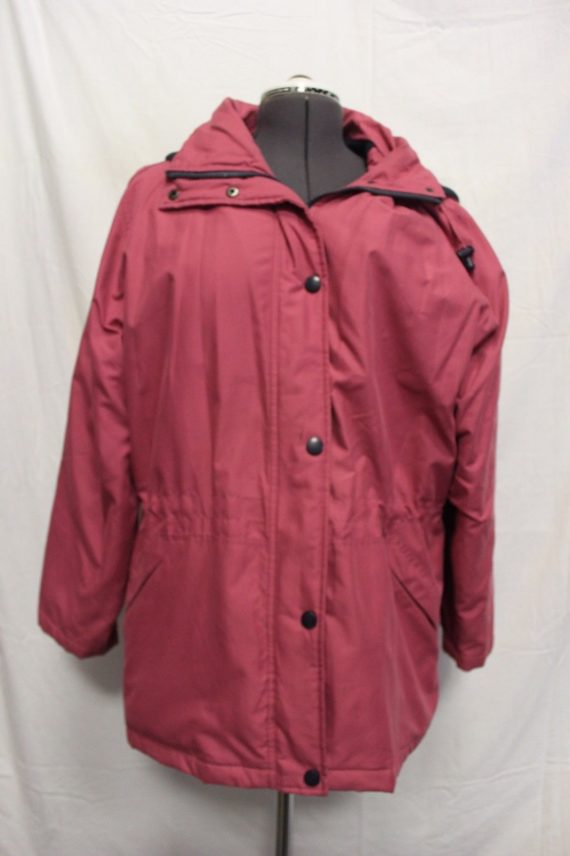 blair-pink-warm-coat-jacket-lined-womens-large-100-polyester
