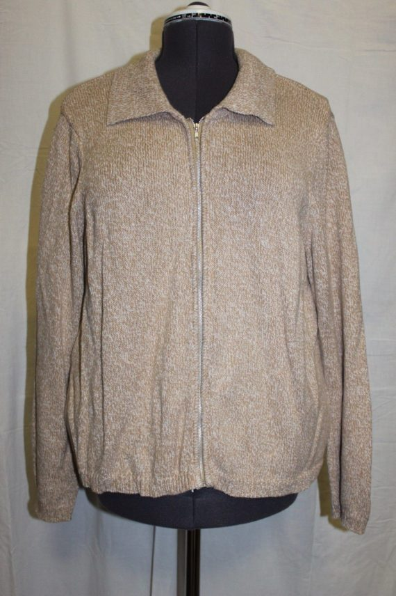 blair-tan-zip-up-sweater-womens-size-large