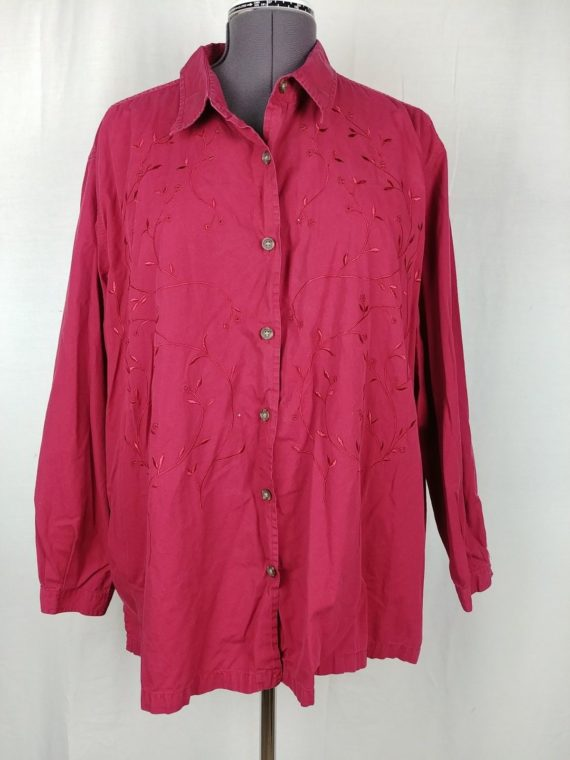 bobbie-brooks-red-long-sleeve-button-up-blouse-womens-plus-size-26w-28w