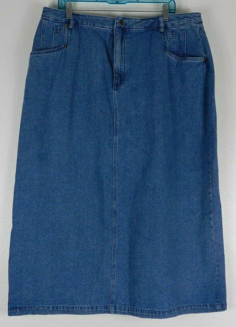 30e9153583 Womens Modest Jean Skirts