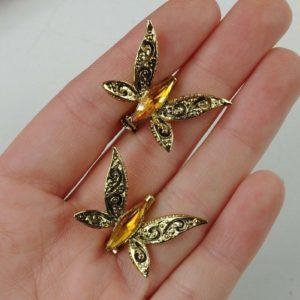 brooch-butterfly-set-rhinestone-gold-tone-art-deco-metal-coat-pin-hat-07