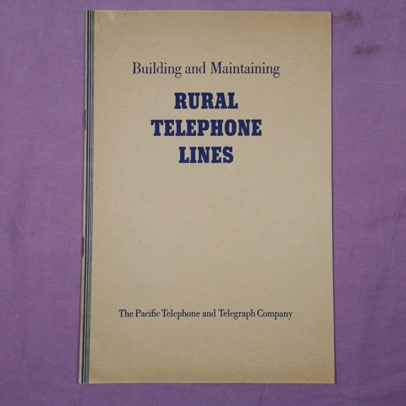 building-and-maintaining-rural-telephone-lines-booklet-telephone-history