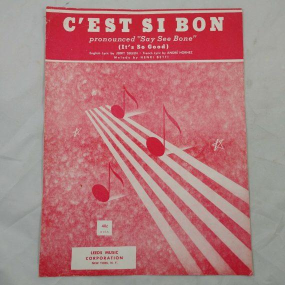 cest-si-bon-its-so-good-vintage-sheet-music-leeds-music-corp-henri-betti