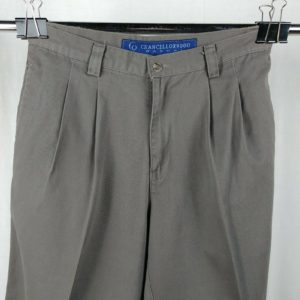 chancellor-9000-causal-beige-pants-mens-size-34-x-25-pleated-front